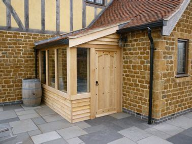 timber framed porches  wooden porches  leicestershire