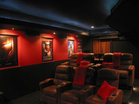 show us your color schemes home theater