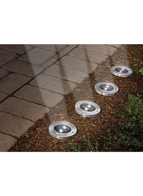 solar pathway lights ceramic solar path lights set of 2