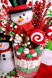 Christmas, Candy, Centerpiece
