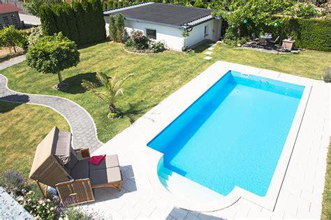 pool mit heizung premium selbstbau pool