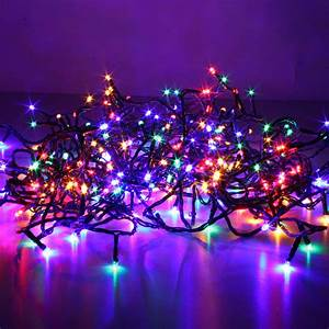 Lichterkette Bunt Innen : led lichterkette 21 meter m 240 leds multicolor innen ~ Watch28wear.com Haus und Dekorationen