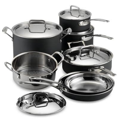 cuisinart kitchen pro buy cuisinart 174 kitchen pro aluminum 11 cookware set