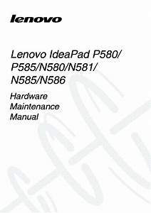 Ideapad N585 Laptop Diagram
