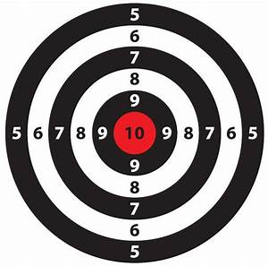 free targets monetary sovereignty mitchell monetary With bullseye template printable