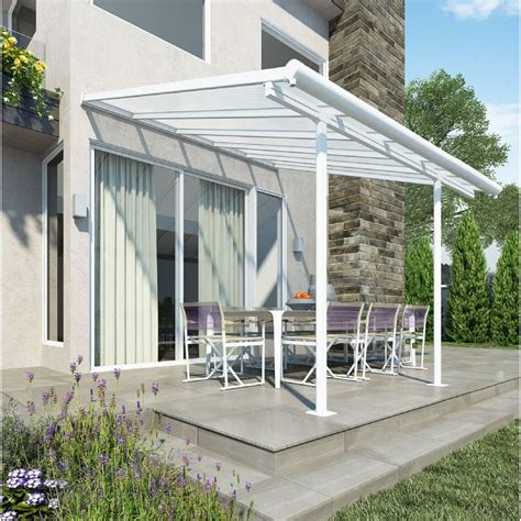 palram sierra patio cover 3 x 305 white on sale fast
