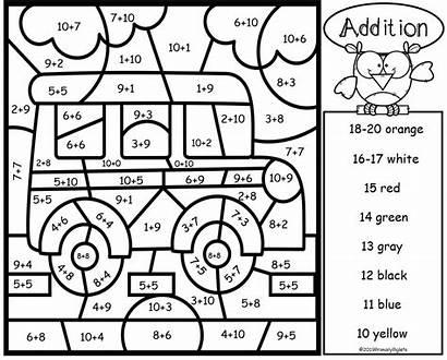 Addition Subtraction Number Worksheets Facts Bundle Madebyteachers