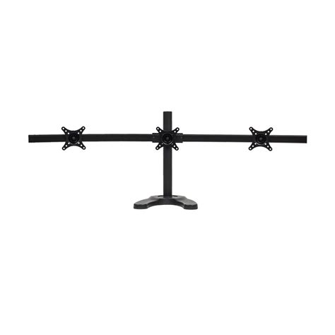 3 monitor standing desk triple lcd 3 monitor stand desk mount adjustable curved