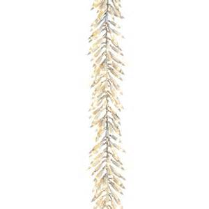 shop ge 12 ft pre lit indoor outdoor cluster light artificial christmas garland with clear