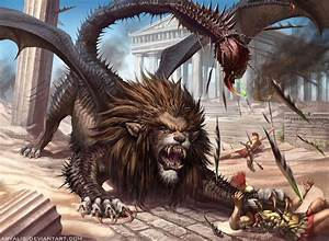 -Manticore- by arvalis on DeviantArt
