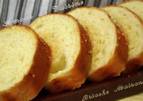 recette cuisine maison brioche maison a la 28 images brioche maison moelleuse