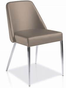 Chaise Capitonnée Taupe : chaise design taupe manga lot de 2 ~ Teatrodelosmanantiales.com Idées de Décoration