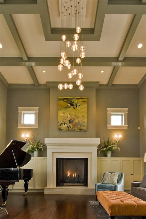 contemporary light fixtures living room transitional with