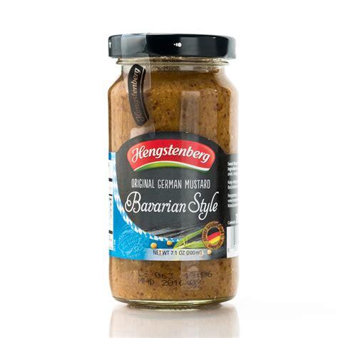 german mustard hengstenberg sweet bavarian mustard safka continental goodies auckland new zealand