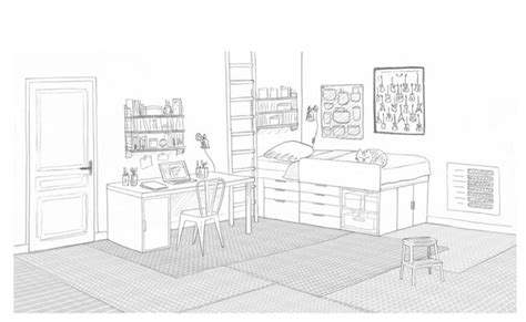chambre en perspective dessin dessin d une chambre en perspective 2 une chambre