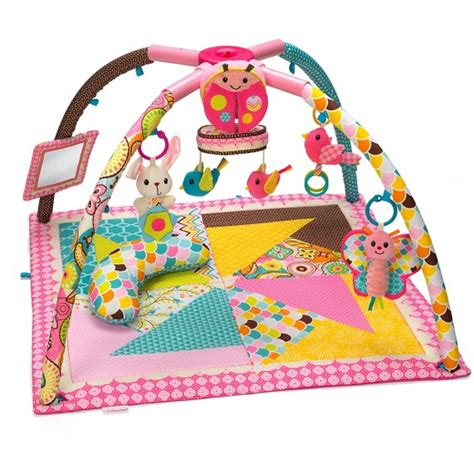 infantino play mat infantino go gaga deluxe twist and fold pink target
