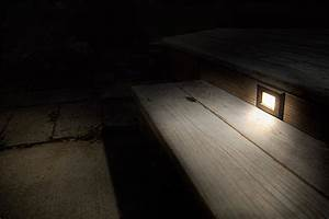 led step lights rectangular deck step accent light w With outdoor deck lighting 120v