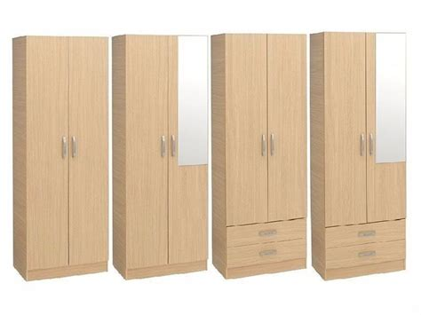 Assembled Wardrobes by Brand New Pre Assembled 2 Door Wardrobe With Drawers