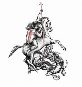 45 best Black Knight And Dragon Tattoo Drawing images on ...