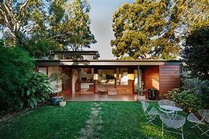 Courtyard, House, By, Davis, Architects, -, Archiscene