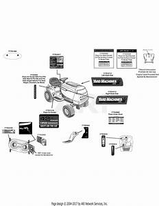 Mtd 13an775s000  2012  Parts Diagram For Label Map 13an775s