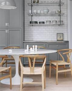Table De Cuisine Ovale : la cuisine blanche et bois en 102 photos inspirantes ~ Teatrodelosmanantiales.com Idées de Décoration