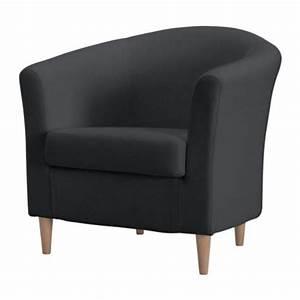 TULLSTA Fauteuil Ransta Donkergrijs IKEA