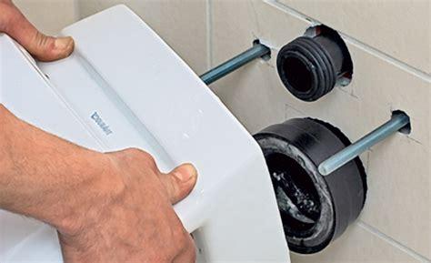 montage wand wc verdeckte befestigung montage eines wand wc k 252 che bad sanit 228 r selbst de