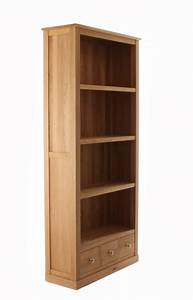 Mobel Oak Large 3 Drawer Bookcase Style Our Home