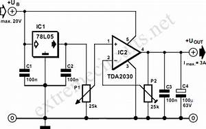 adjustable voltage regulator with tda2030 With advance multi output regulators