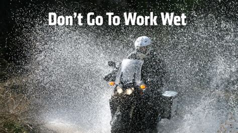 motorcycle rain top motorcycle rain suits for commuters don 39 t go to