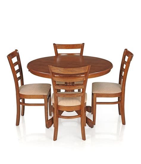 Dining Table Chairs Price by Royaloak Dining Table Set With 4 Chairs Solid Wood