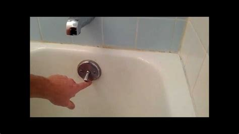 bathtub stopper stuck open bath tub trip lever bath tub stopper replacement or