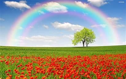 Rainbow Wallpapers Natural Rainbows Wallpapersafari