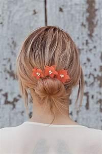 Flower Hair Pins Wedding Hair Flowers Bridal Hair Pins
