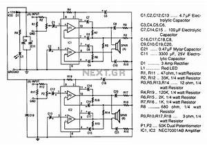 20w   20w Stereo Amplifier Circuit Diagram Under Audio