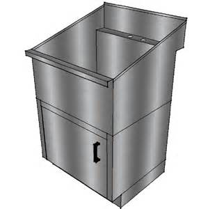 Stainless Steel Restaurant Kitchen Cabinets by Stainless Steel Laundry Utility Sink With Base Cabinet