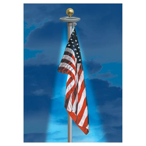 flag pole light flagpole solar power light stores