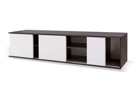 meuble bas cuisine porte coulissante idée meuble tv bas porte coulissante