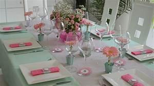 Deco Table Communion Fille