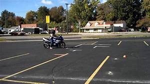 Ohio Bmv Motorcycle Skills Test Course Layout