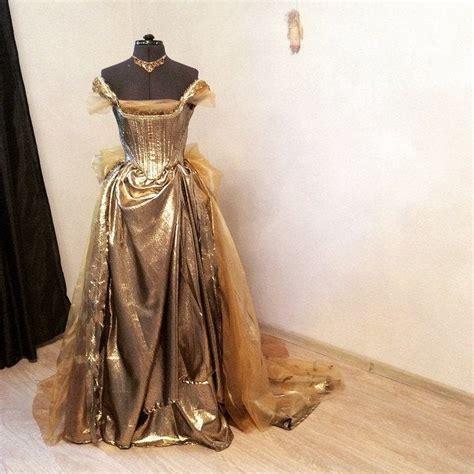 cinderella gold dress   woods disney cosplay sorsage