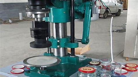 metal caps glass jars sealing machine semi automatic cap capping machinery electric pepper sauce