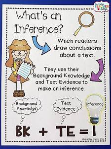 Making Inferences Inference Activities Reading Workshop