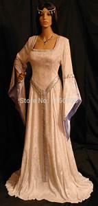 ELVEN DRESS Medieval Renaissance Fairy Dress Renaissance ...