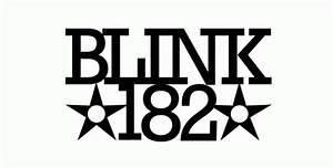 Blink 182 Font and Blink 182 Logo