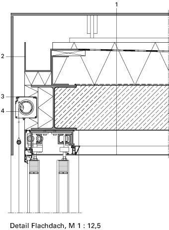flachdach holzkonstruktion detail deutsche bauzeitschrift