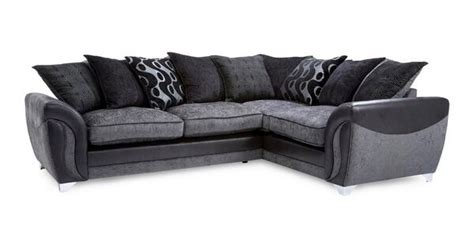 Dfs Corner Couches by Dfs Corner Sofa Black Grey In Sheffield South
