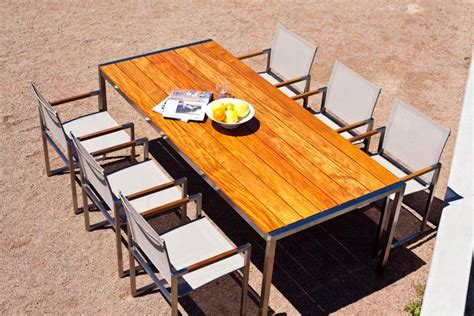 metal and wood outdoor furniture best decor things