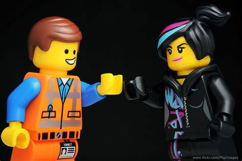 Emmet And Wyldstyle By Diginik13 Lego Minifigures